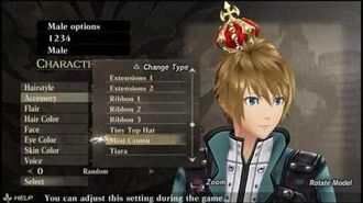 GOD EATER RESURRECTION Male Character Creation