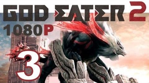 God Eater 2 - PS VITA - 1080P - Let's Play - Part 3 - Electric crocodile-like Aragami!