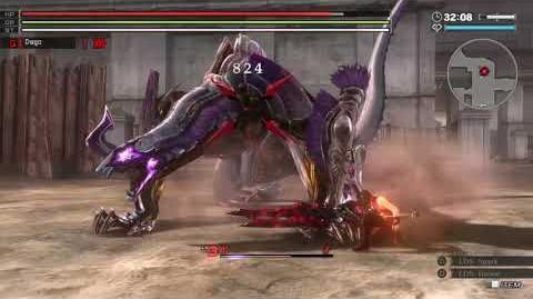 GOD EATER RESURRECTION - Grounded Lightning - Rank 13 20 - Blitz Hannibal - B. Blade - Pure Meele