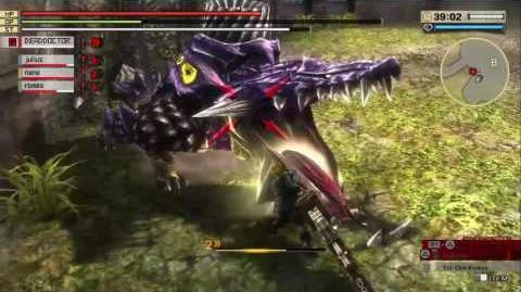 GOD EATER 2 RAGE BURST - Difficulty 1 Hard Mission- A Flower among the Ashes
