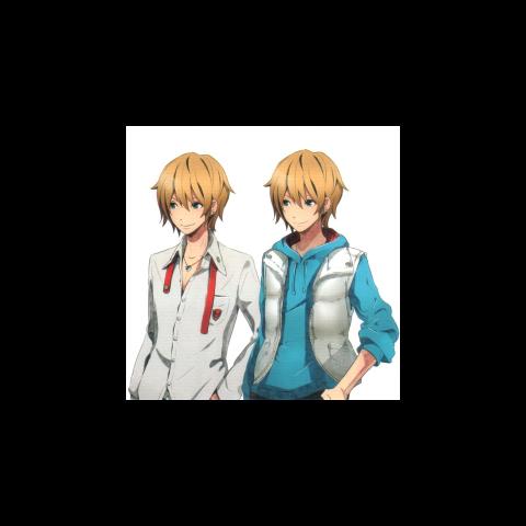 Shogo uniform and casual sprites