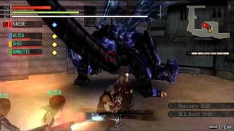Gods Eater Burst DLC - Blue Blade Dance