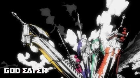 PS Vita PSP「GOD EATER 2」 オープニングアニメ
