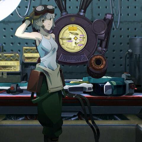 Licca Kusunoki in the anime adaption