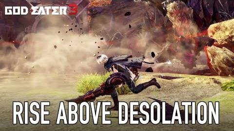 God Eater 3 - PS4 PC - Rise Above a World of Desolation (English Trailer)
