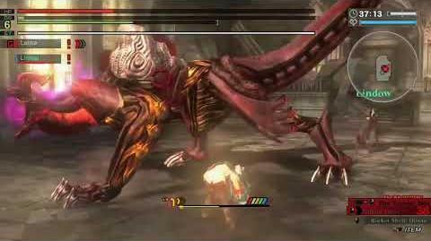 """God Eater Resurrection """"Lenka Utsugi"""" VS Corrosive Hannibal"""