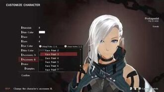 God Eater 3 My Female Character Creation 4K