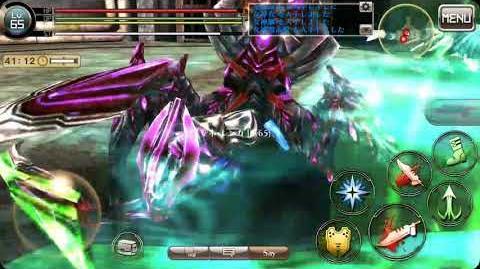 """God Eater Online Android """"Lenka Utsugi"""" VS Chrome Gawain & Hannibal-0"""