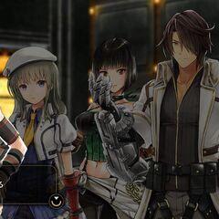 Soma, along with Kota, Lindow, Sakuya and Erina