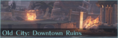 Old City Downtown Ruins Icon GE3