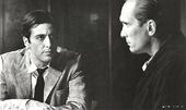 Tom hagen and michael corleone in the godfather part ii