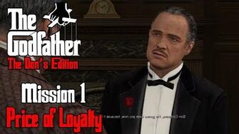 The Godfather The Don's Edition - The Prelude & Mission 1 - Price of Loyalty