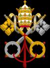 100px-Emblem of the Papacy SE svg