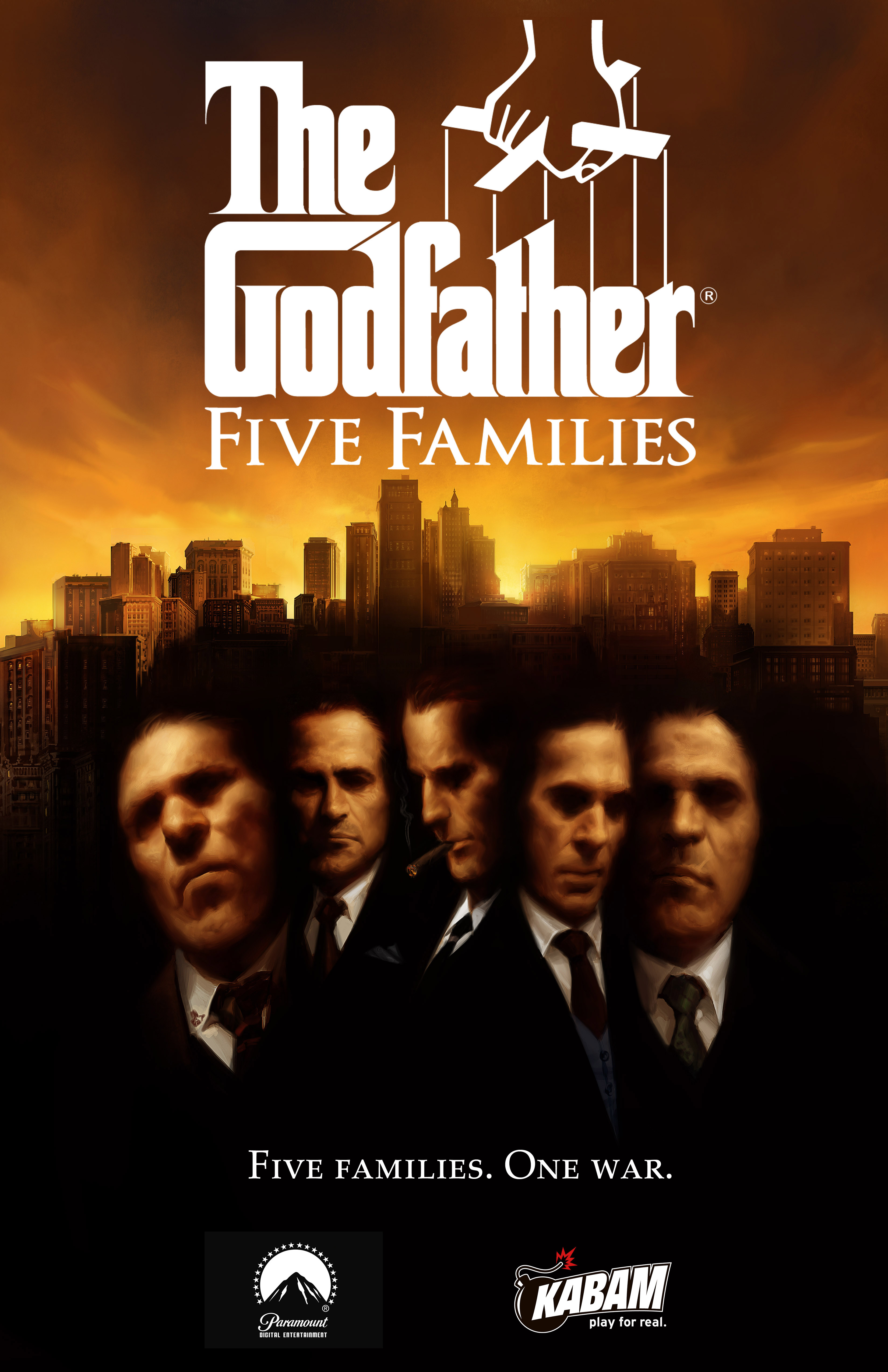 The godfather five families the godfather wiki fandom powered the godfather five families thecheapjerseys Images