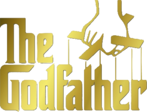 The Godfather logo gold
