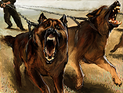 Troop guarddogs