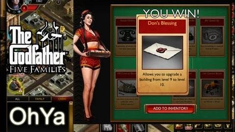 How to win at Lucky Chances Update - The Godfather Five Families - Jan - 2013 - OhYa