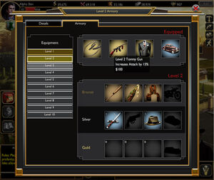 Armory screenshot