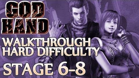 ★ God Hand Walkthrough ▪ Hard Mode - Stage 6-8