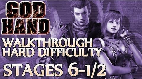 ★ God Hand Walkthrough ▪ Hard Mode - Stage 6-1 6-2
