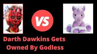Darth Dawkins Lies About Free Will Debate With Godless