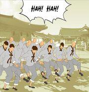 Practical taekkyeon