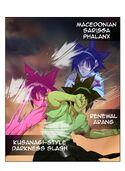 Mo-Ri Hui phalanx Arang Darkness slash