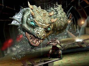 god of war 1 killing hydra