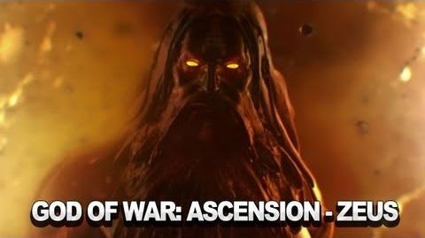 God of War Ascension - Zeus Trailer