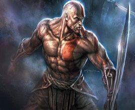 Kratos con su espada