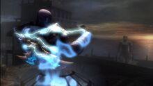 Il colosso di Rodi che si avvicina a Kratos