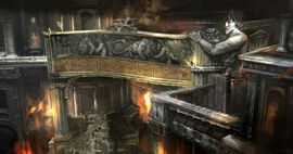 Talla del León de Nemea en el Olimpo