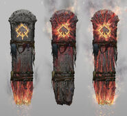 Troll Totem Concept Art