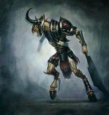 Satyr armored