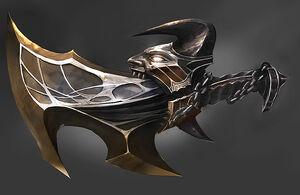 Ilustración de las Espadas de Exilio