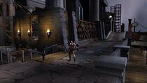 Kratos en los Muelles de Atenas