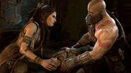 Kratos e a bruxa