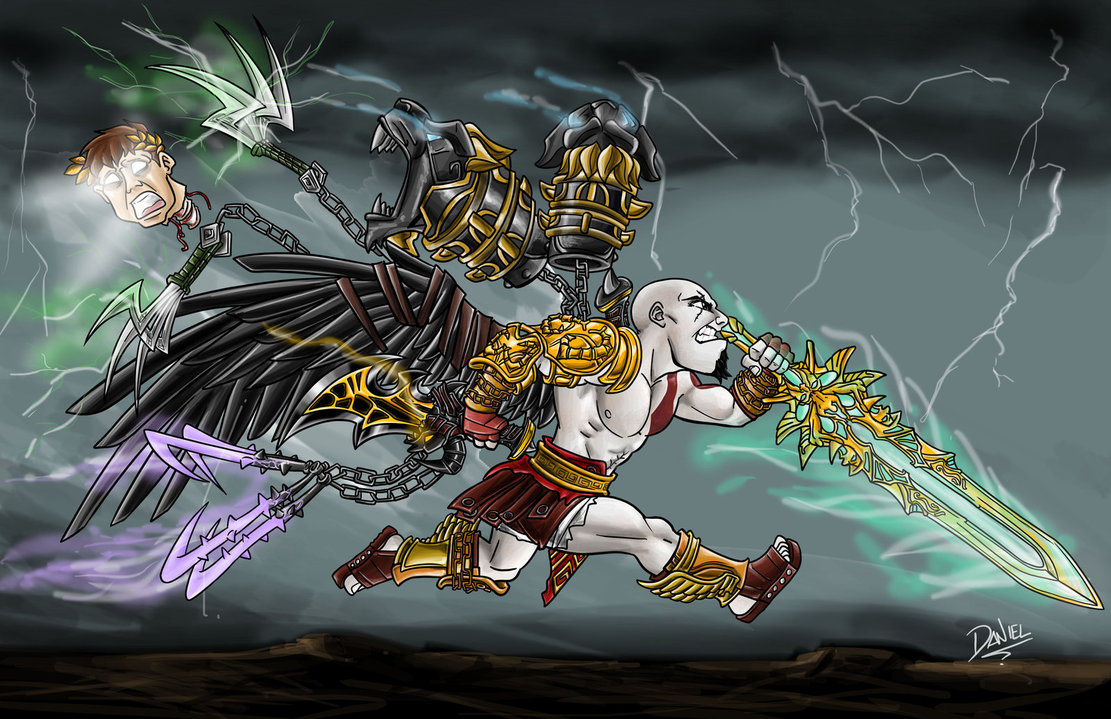God Of War Ascension Kratos Weapons