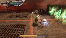 Caronte lotta contro kratos