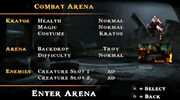 Combat Arena (God of War Ghost of Sparta)