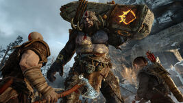 God of War - Screenshot - Troll