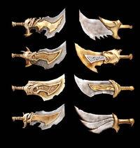 Conceptos de las Espadas de Atenea