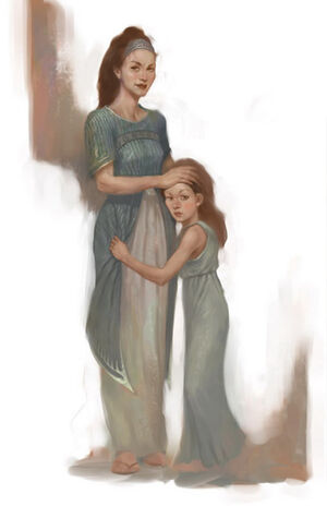 KratosWife&Child