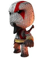Kratos en LittleBigPlanet-2