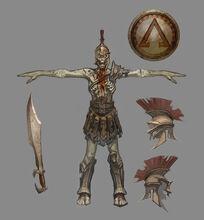 Equipo del Soldado Hoplita