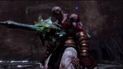 Kratos infilzato