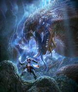 Kratos vs Criatura sobre Gaia