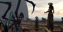 Aletto ordina tisifone megera trovare orkos kratos delo GoW ascension