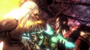 Kratos uccide zeus