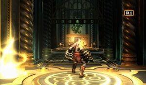 Kratos en la Cámara de Poseidón
